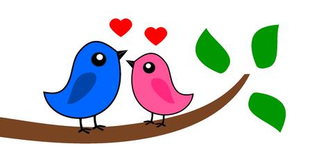 fledgeling: two love birds