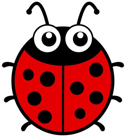 smirch: a ladybug with big eyes