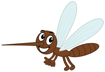 a mosquito sting brown