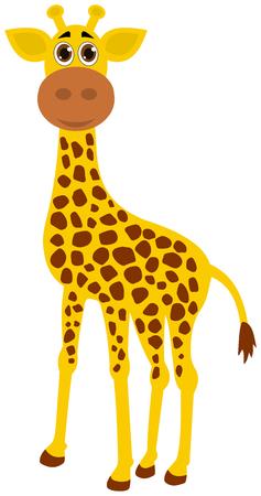 giraffa: una jirafa Vectores