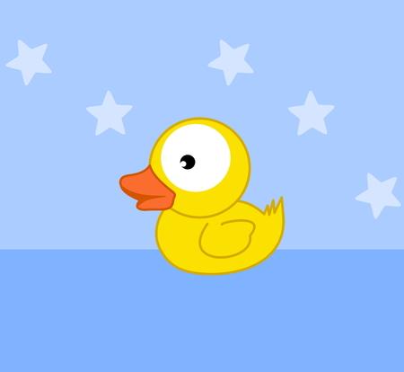 fledgeling: a toy duckling bath