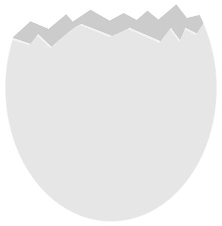 яичная скорлупа: сломанный яичной скорлупы