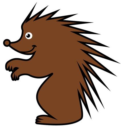 goad: a Brown hedgehog