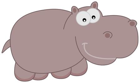 a happy Hippo