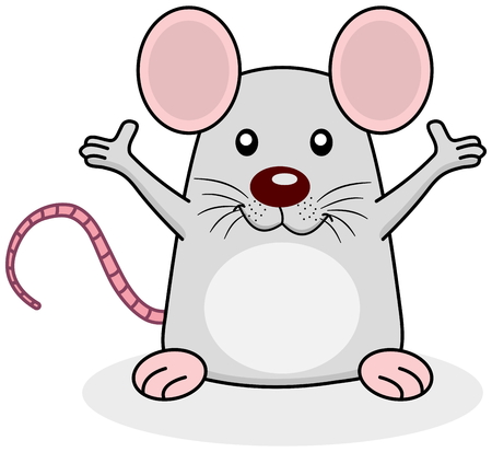 loveable: a rat happy open arms