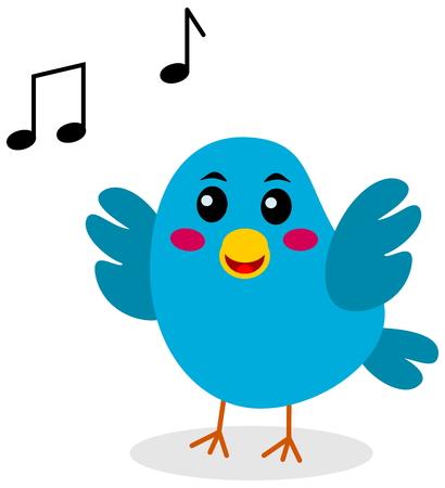 fledgeling: singing bird