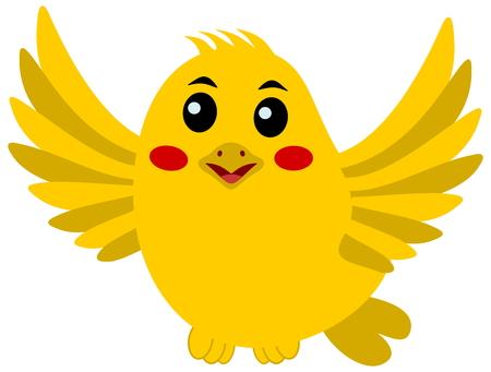 fledgeling: flying songbird