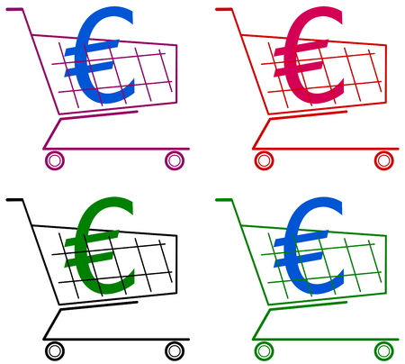 remnant: cart with euro