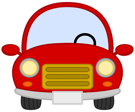 lege rode auto