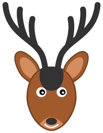 stuffed: stuffed deer Illustration
