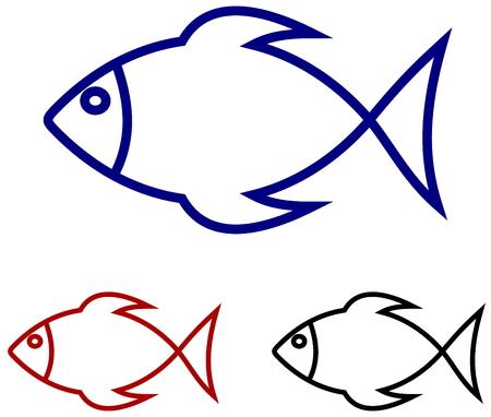 series of fish Illustration