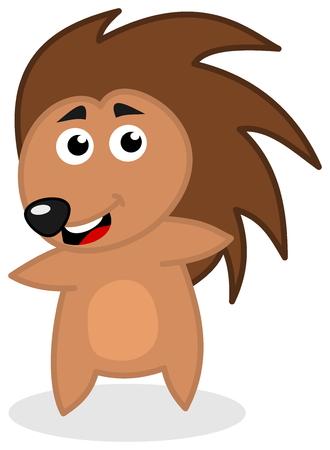 goad: smiling hedgehog