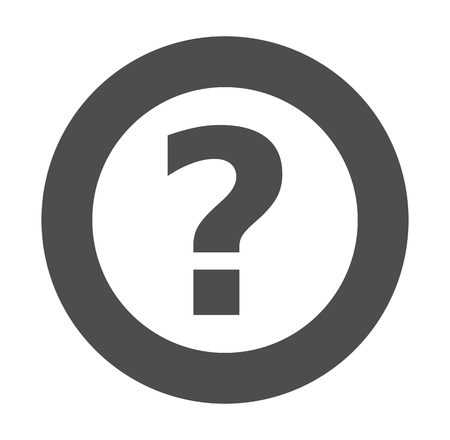 point d interrogation: interrogation gris