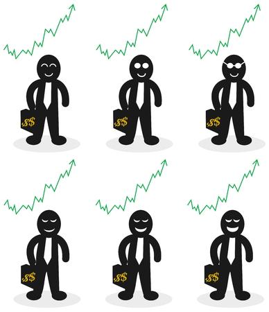trader who win money Illustration