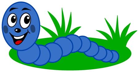 earthworm: earthworm smiling profile