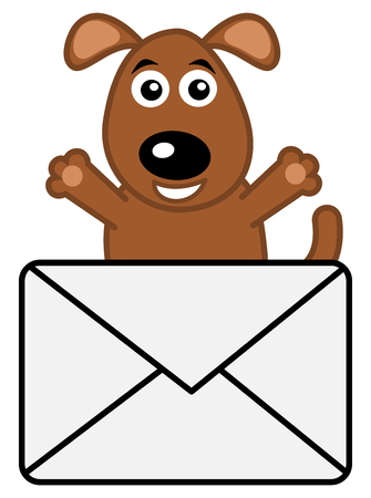 received: dog received a letter