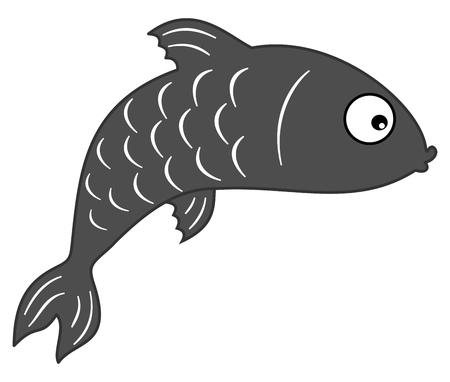 sardine: fish grey shadow
