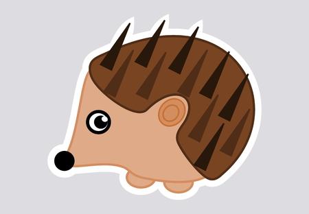goad: a hedgehog stickers Illustration