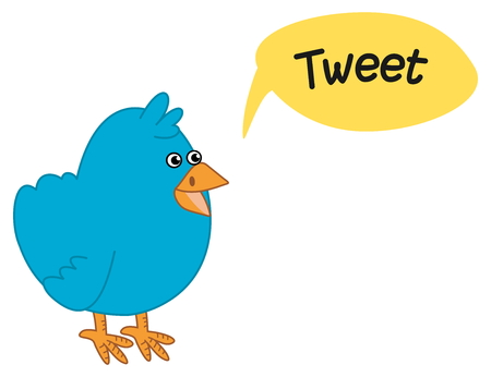 tweet: blue bird who wants to make a tweet