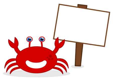 advertiser: happy red crab with panel