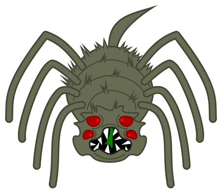 horrible: a horrible big scary spider