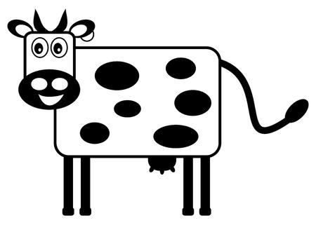 ruminate: cow black icon