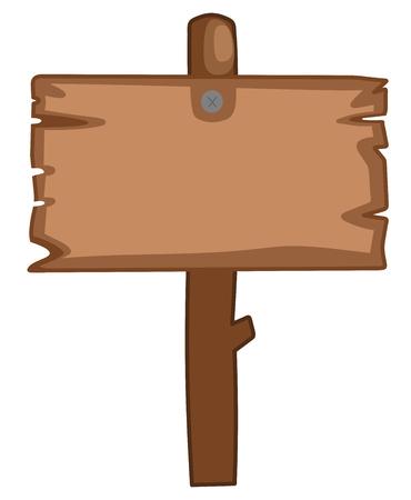 advertiser: Pannello per cartone animato in legno