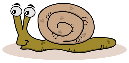 larvae: smiling snail