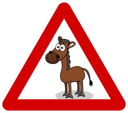 signaling: horse smiling in signaling panel