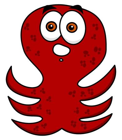 feeler: octopus amazed standing