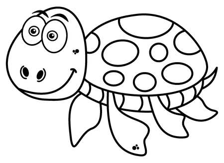 waterpolo: happy turtle coloring