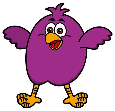 aviculture: little bird smiling