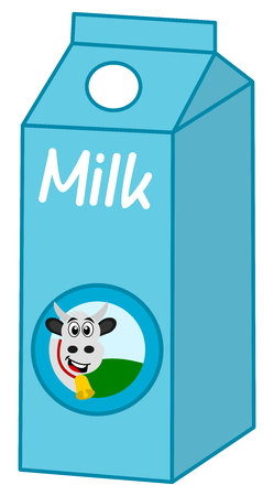 advertiser: milk box