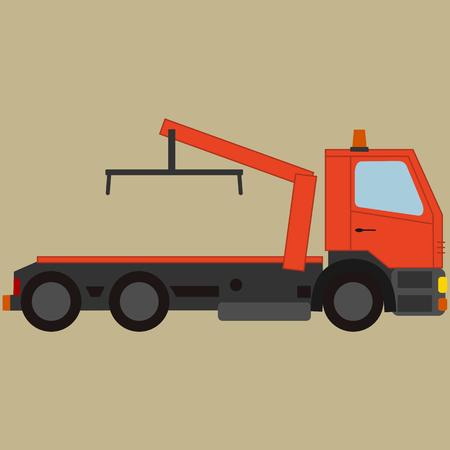 Chariot de remorquage, pour véhicule en panne Banque d'images - 82113855