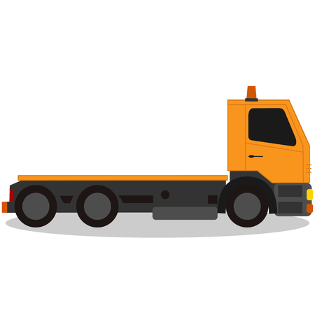Tow truck, for breakdown vehicle Ilustracja