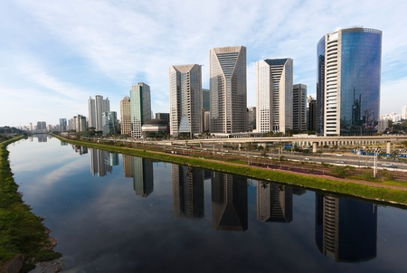Rio Pinheiros, S?o Paulo - Brazil