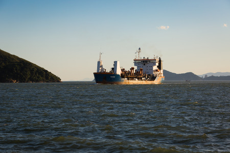 Santos, Brazil, july 9 LELYSTAD dredger, arrived at the port of Santos on 0907 at around 17h20, Their services are running on the berth deepening the BTP Brazil Port Terminal, the new Container Terminal soon to be opened on July 9, 2015 in Santos, Brazil. Editorial