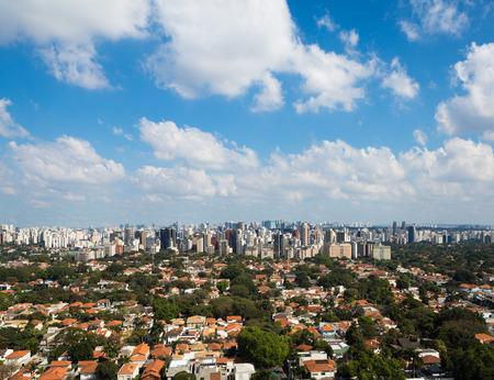 View of jardins neighborhood, Sao Paulo - Brazil