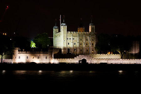 subsequently: The White Tower is a central tower, the old keep, at the Tower of London. It was built during the late 11th century, and subsequently extended. Stock Photo