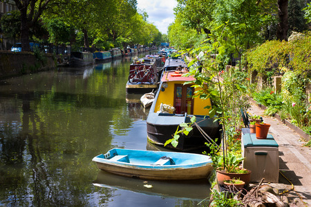 Little Venice, Regent's Canal, London - England