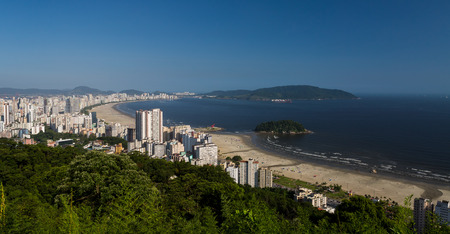 saints: Aerial view of the city of Santos, Sao Paulo, Brazil.