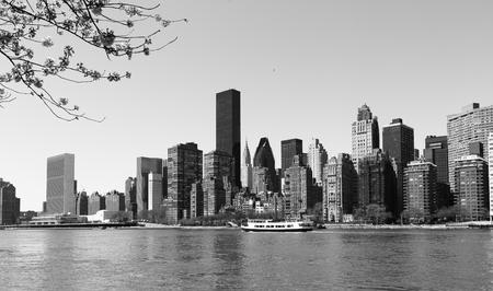 roosevelt: New York skyline from Roosevelt Island