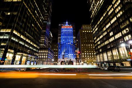 El edificio Helmsley fue construido en 1929 como el edificio central de Nueva York, situado a 230 Park Avenue. Foto de archivo - 58202366