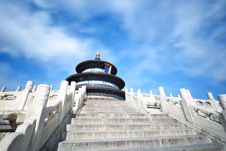 heaven: Temple of Heaven scenary in Beijing,China.