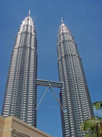 petronas: Torres gemelas en Kuala Lumpur, Malasia  Editorial
