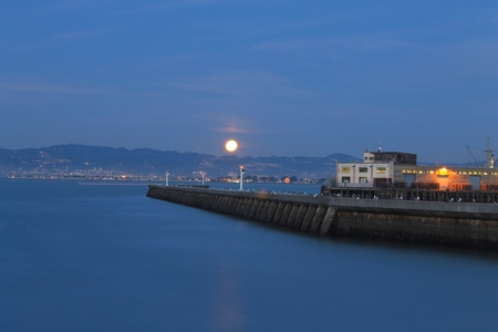 Moon time photo