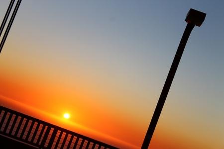 An sunset byt the Golden Gate Bridge in San Francisco Stock Photo - 10988906