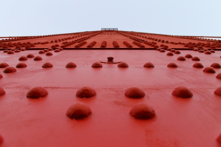 Red Bridge Stock Photo - 10988912