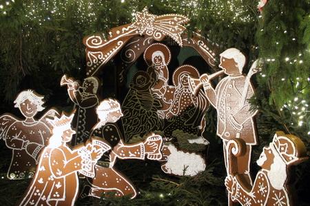 gingery: Gingery bread representation of Christmas