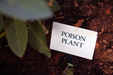 Poison Plan sign